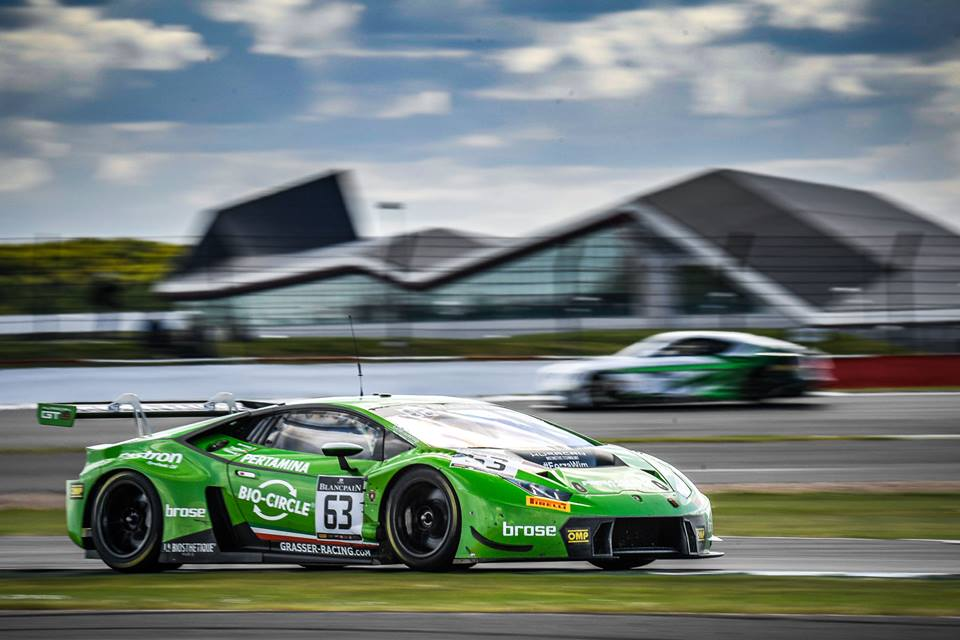 Another Win For Lamborghini In The Blancpain Gt Series